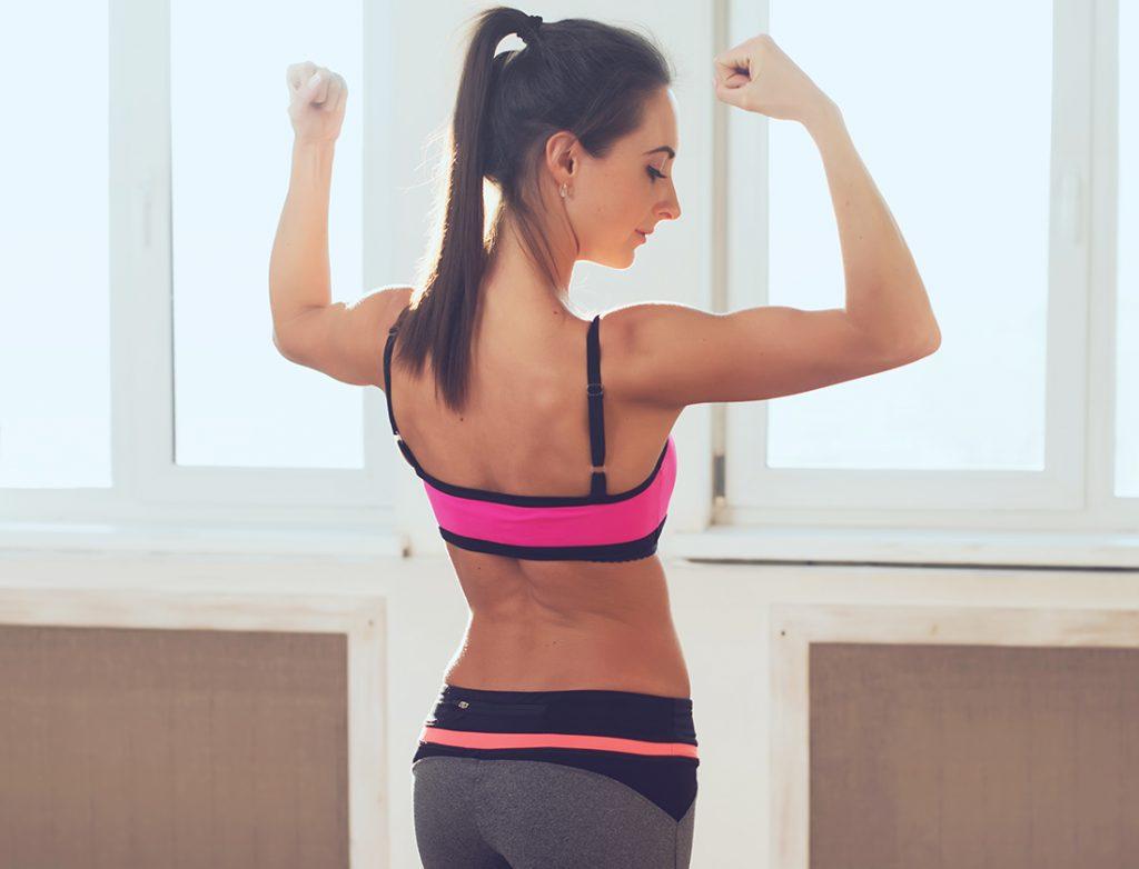 Sous réserve de ne pas avoir une masse graisseuse trop importante, les muscles vont se fortifier, se dessiner et ce résultat peut être visible.